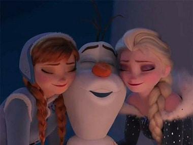 Olaf's Frozen Adventure Image via Facebook