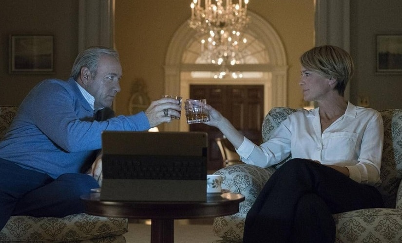 House of Cards. Images from Instagram