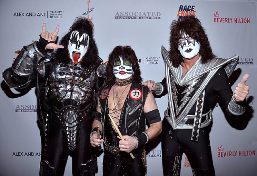 Kiss band. Image from Getty Images.