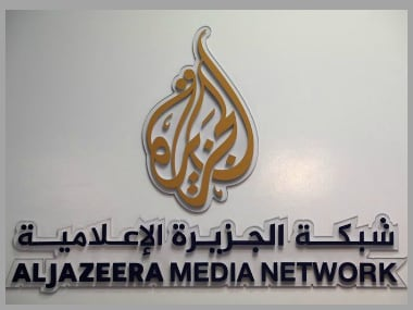 File image of the logo of Al Jazeera Media Network. Reuters