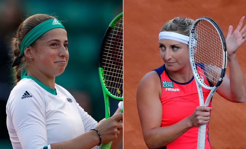 Jelena Ostapenko and Timea Bacsinszky will meet for the first time in the French Open semi-finals. AP