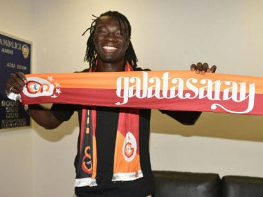Bafetimbi Gomis officially confirms his move to Galatasaray. Twitter: Galatasaray