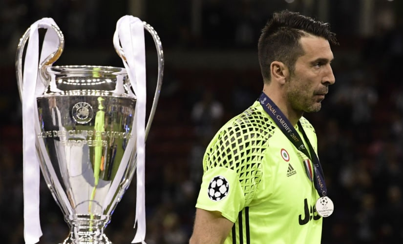 Gianluigi Buffon missed out on winning the Champions League for the third time. AFP