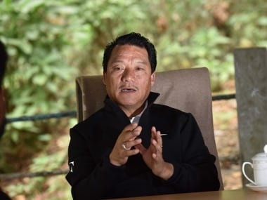 File photo of GJM chief Bimal Gurung. Getty Images