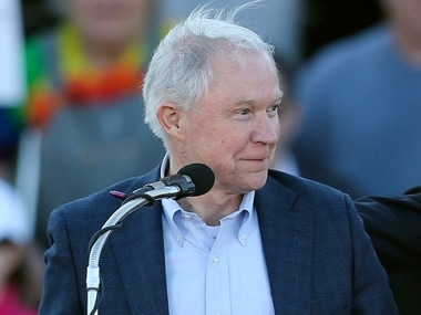 File image of Attorney General Jeff Sessions. AP
