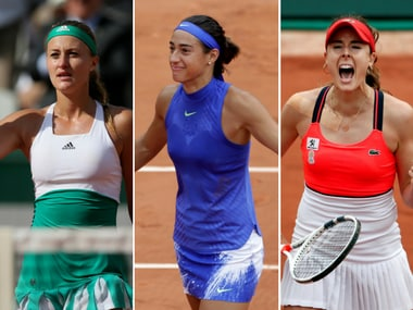 France have three women into the last 16 for the first time in 23 years. Agencies