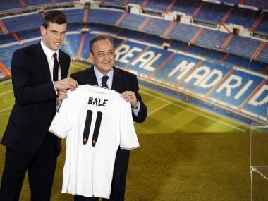 Gareth Bale was signed by Florentino Perez a world record transfer fee of £85.3 million (€100 million) in 2013