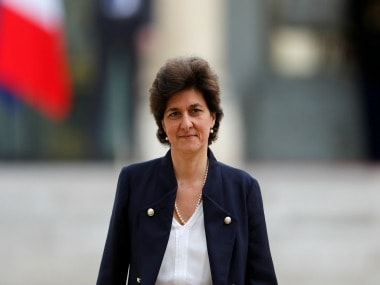 File image of French defence minister Sylvie Goulard. Reuters