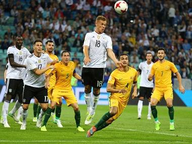 Germany Vs Australia. REUTERS