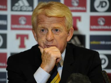 File image of Gordon Strachan. AFP