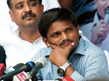 File image of Hardik Patel.