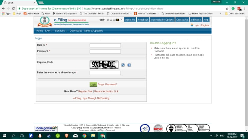 How to link Aadhar number with PAN card