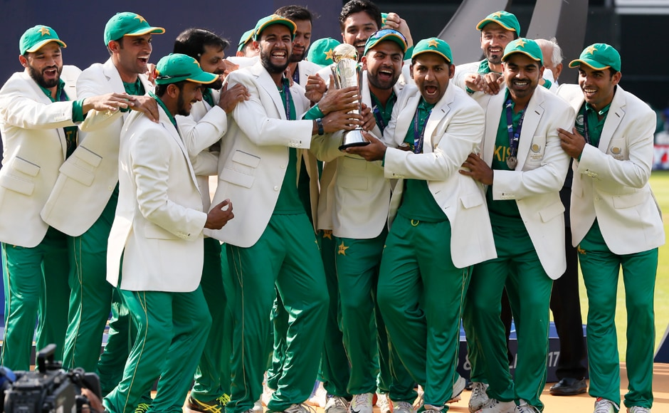 Pakistan clinch maiden Champions Trophy after thumping win over India