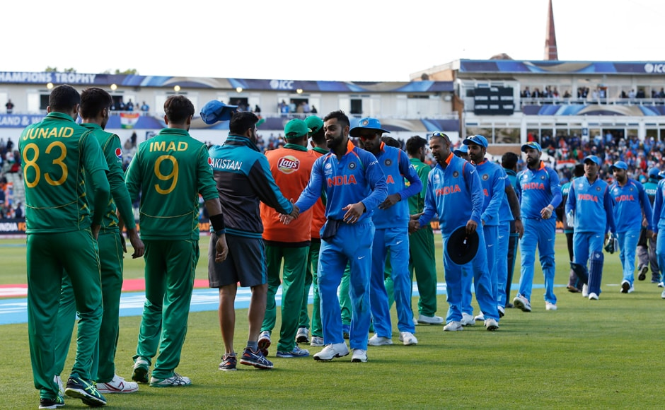 In the end, India defeated Pakistan handsomely by 124 runs, continuing their stranglehold over their neighbours in the ICC Tournaments. Reuters