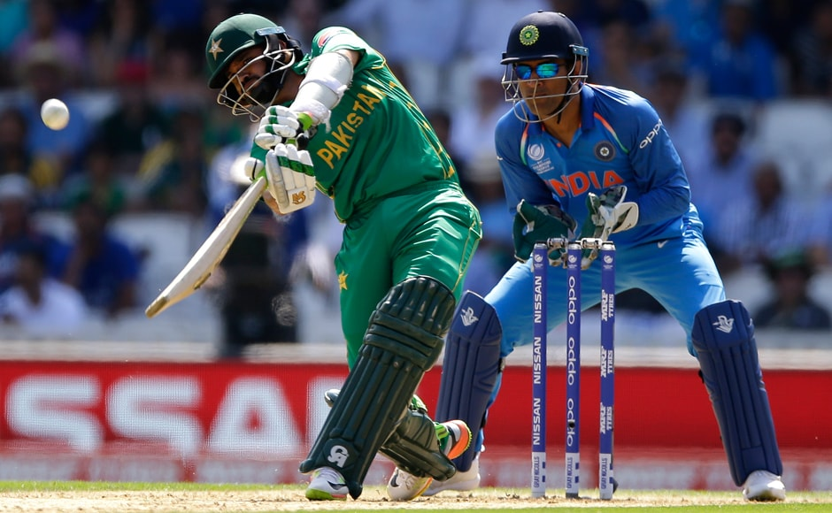 A normally sedate Azhar Ali took the early attack to the Indian bowlers, taking a liking to Ravichandran Ashwin's non-threatening off-spin. AP