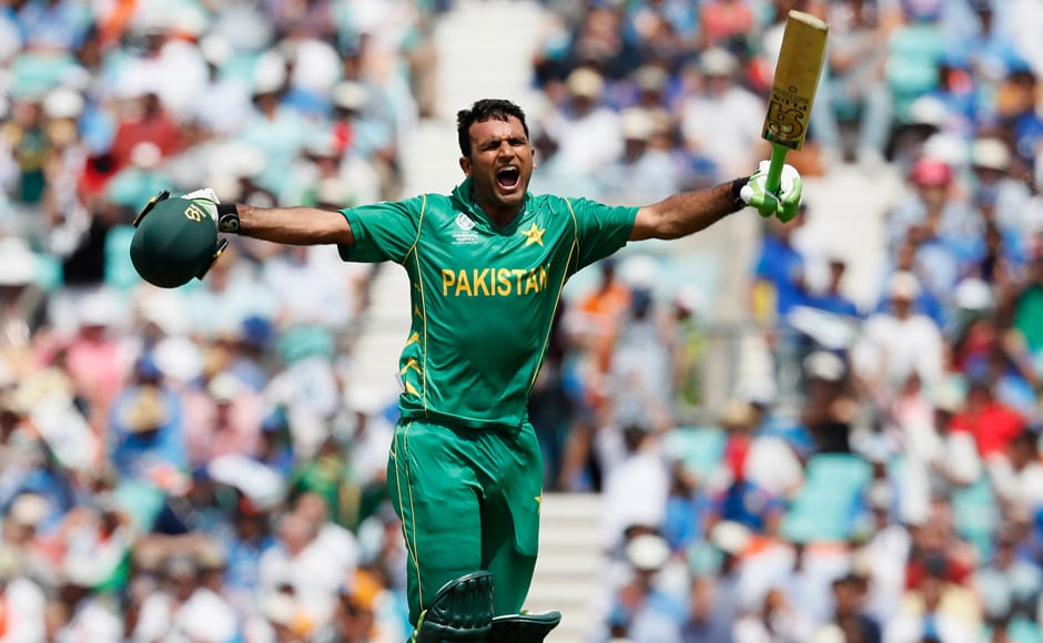 Pakistan batsman Fakhar Zaman didn't allow the run-out to distract him and instead blasted his way to a crucial century. AP