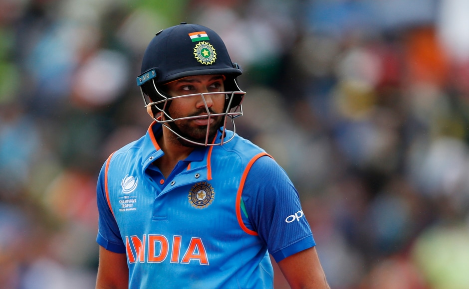 Rohit Sharma missed out on a well-deserved century after he got caught up in a mix-up with captain Kohli. Reuters