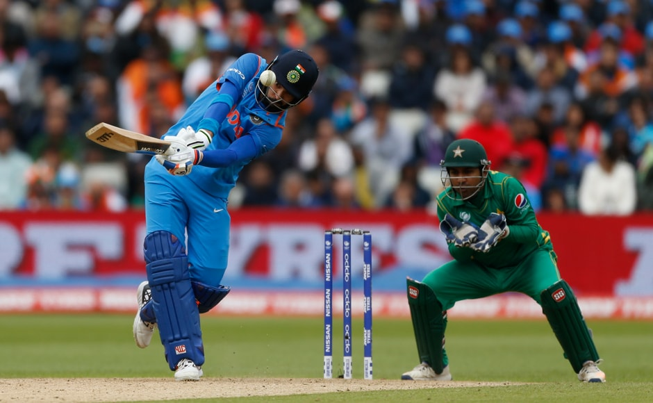 India's innings received a  much needed acceleration after Yuvraj Singh  rolled back a few years with his quick-fire fifty. Reuters