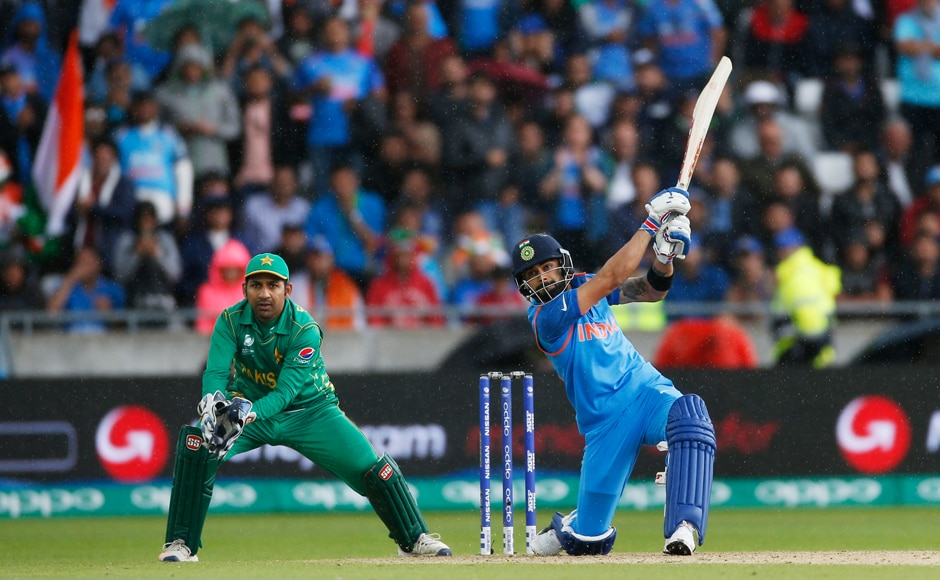 Virat Kohli too joined in the fun, taking 38 off 12 balls after he was dropped by Fakhar Zaman of Pakistan. Reuters