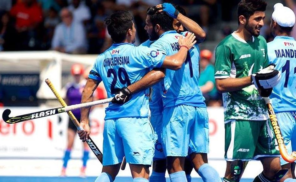 Penalty corner specialist Harmanpreet Singh and forwards Talwinder Singh and Akashdeep Singh scored a brace apiece as a relentless India flayed Pakistan 7-1 in a Pool B clash to storm into the quarter-finals of the Hockey World League (HWL) Semi Final. Getty