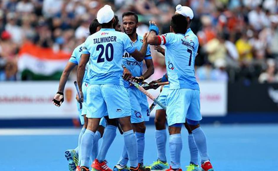 With the 7-1 win, India moved to the top spot of the Pool B with nine points, while their neighbours are yet to open their account. Image courtesy: Twitter/@TheHockeyIndia