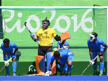 File image of the Indian hockey team. AFP
