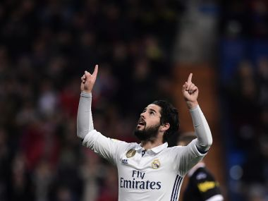 Isco has been the glue that's bound Zinedine Zidane's Real Madrid together. AFP