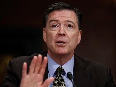 File image of former FBI Director James Comey. AP