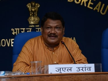 File image of Jual Oram. Ministry of Tribal Affairs