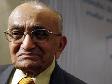 File image of PN Bhagwati. Reuters
