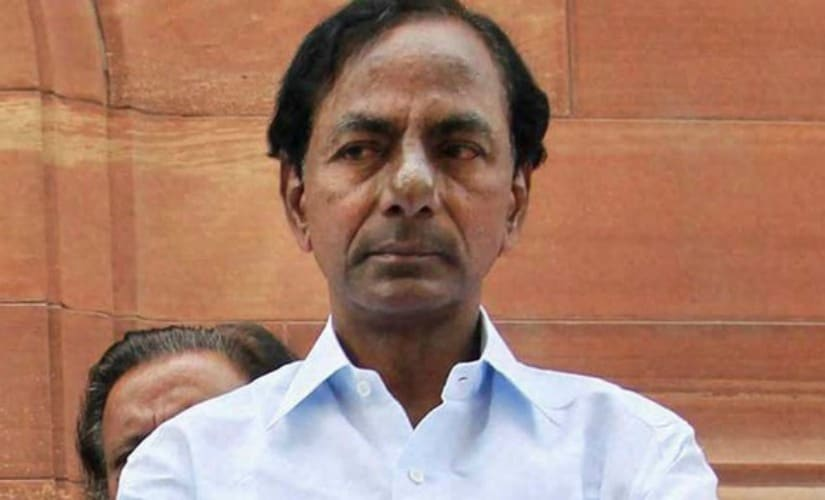 File image of K Chandrashekhar Rao. PTI