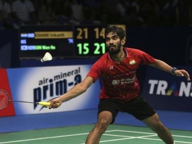 File photo of Kidambi Srikanth. AP