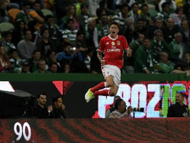 Victor Lindelof has agreed to join Manchester United. AFP