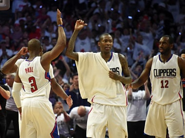 File image of Los Angeles Clippers during a game against the Utah Jazz. Reuters