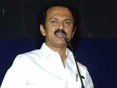File image of the President of Dravida Munnetra Kazhagam MK Stalin. PTI