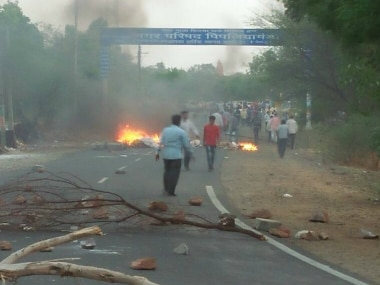 Madhy Pradesh farmers' protests. Twitter/File Photo