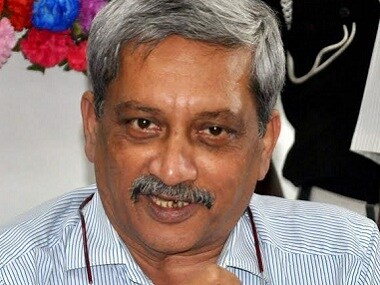 A file image of Goa chief minister Manohar Parrikar. PTI
