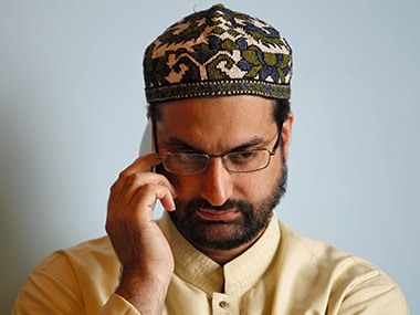 File image of Mirwaiz Umar Farooq. Reuters