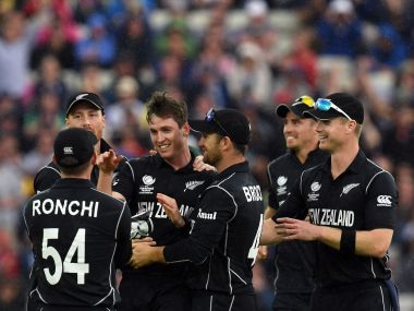 New Zealand earned a moral victory over Australia with a fine performance in a rain-hit encounter. AFP