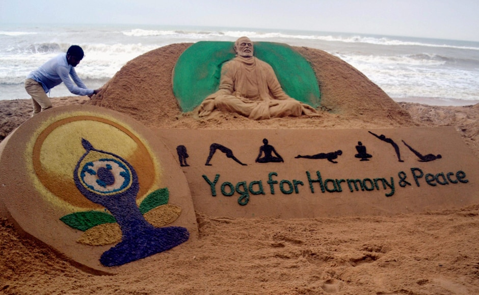 India and the world is the celebrating the third International Yoga Day on Wednesday. PTI