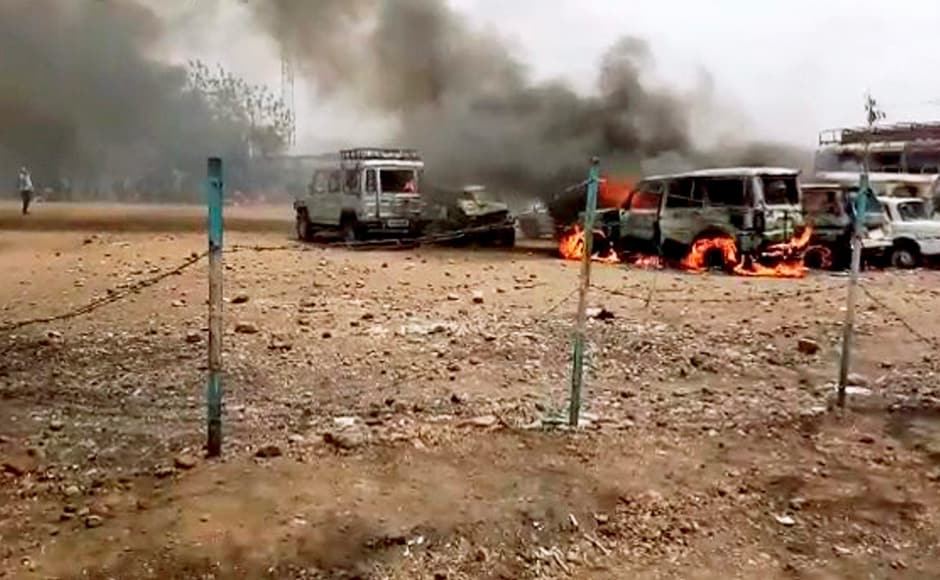 The chief ministerhad earlier held talks with protesting farmers at Ujjain district, even as the stir wasmarred by fresh violence. The Kisan Sena, which is spearheading the protest, later said the agitation hadn't been called off. PTI