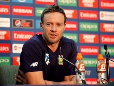 Britain Cricket - South Africa Press Conference - The Oval - June 10, 2017 South Africa's AB de Villiers during the press conference Action Images via Reuters / John Sibley Livepic EDITORIAL USE ONLY. - RTS16GWB