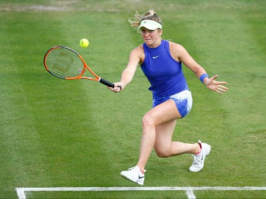 Britain Tennis - Aegon Classic - Edgbaston Priory Club, Birmingham - June 19, 2017 Ukraine's Elina Svitolina in action against Great Britain's Heather Watson during the first round Action Images via Reuters / Peter Cziborra Livepic EDITORIAL USE ONLY. - RTS17QGZ