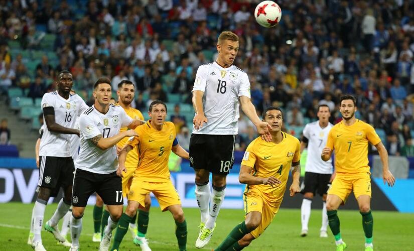 Soccer Football - Australia v Germany - FIFA Confederations Cup Russia 2017 - Group B - Fisht Stadium, Sochi, Russia - June 19, 2017 Germany's Joshua Kimmich in action REUTERS/Kai Pfaffenbach - RTS17QWG