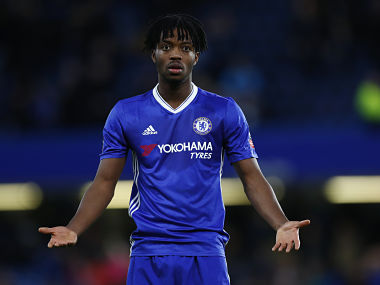 "Britain Football Soccer - Chelsea v Brentford - FA Cup Fourth Round - Stamford Bridge - 16/17 - 28/1/17 Chelsea's Nathaniel Chalobah Reuters / Eddie Keogh EDITORIAL USE ONLY. No use with unauthorized audio, video, data, fixture lists, club/league logos or ""live"" services. Online in-match use limited to 45 images, no video emulation. No use in betting, games or single club/league/player publications. Please contact your account representative for further details. - RTSXX38"
