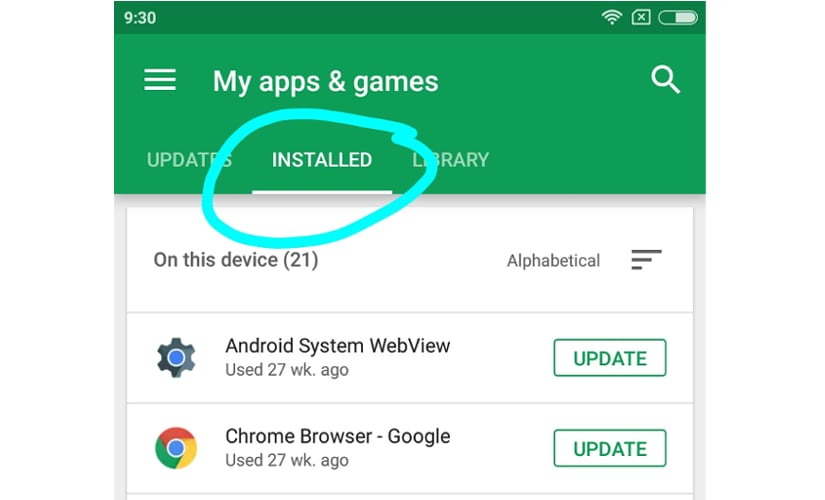 Rate apps on the Google Play Store (1)