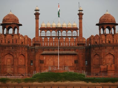 The Red Fort was shown as part of the Pakistani tableau at an SCO meet. Reuters
