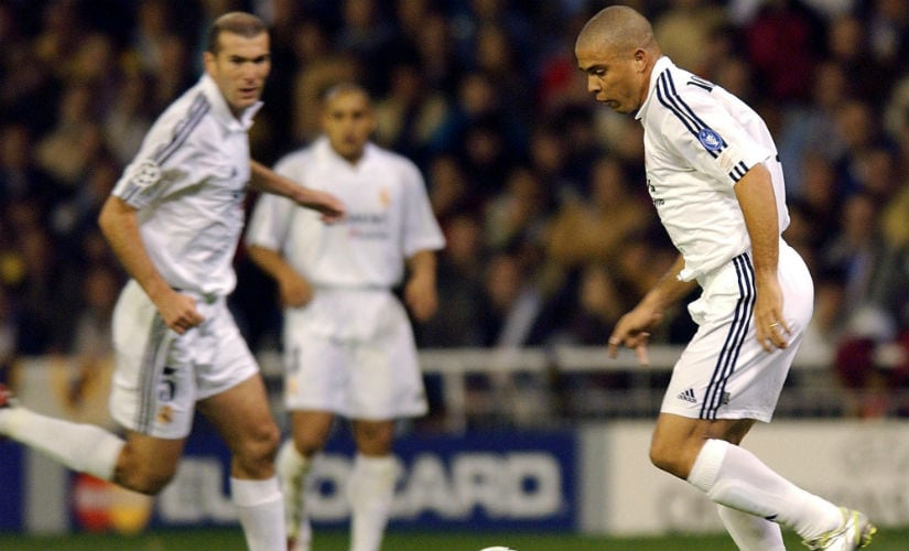 Brazilian legend Ronaldo came close to winning the Champions League in 2002. AFP