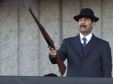 File image of former Iraqi dictator Saddam Hussein. Reuters