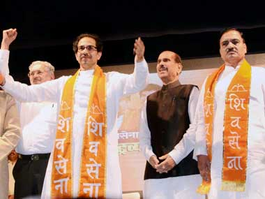 File Image of Shiv Sena leader Uddhav Thackrey. PTI
